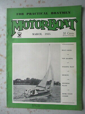 MOTORBOAT Magazine - March 1935 Issue