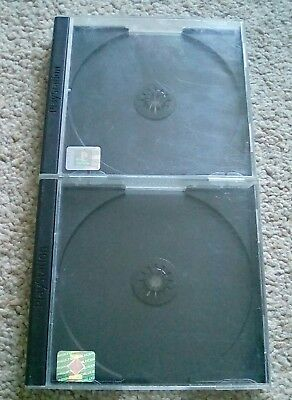 Two 2 x Official Sony Playstation 1 One PS1 PSOne PSX (Jewel Case) Replacement