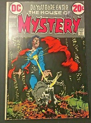 The House Of Mystery. 211. Bernie Wrightson-Cover. 1973. Bronze Age. Dc Comics.