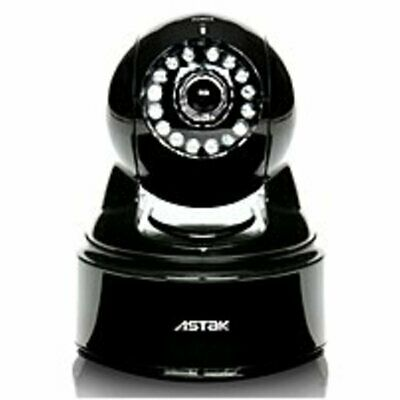 Astak CM-MOLE Wireless IP Camera with 2-Way Audio - IEEE 802.11b/g - CMOS - RJ45