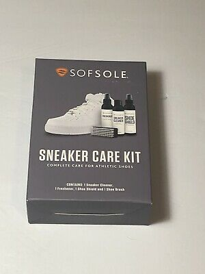 Sof Sole Sneaker Care Kit Shoe Cleaner Cleaning Kit