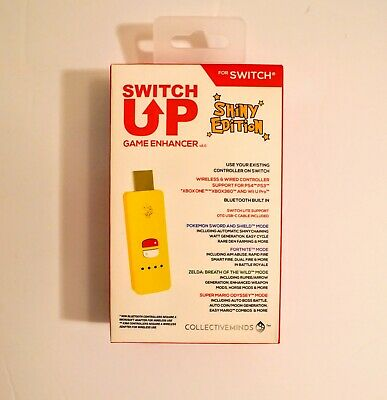 In Hand * Nintendo Switch Up Game Enhancer V2.0 Shiny Edition Pokemon Usb Device