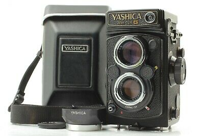 [Exc +5] Yashica Mat 124-G 124G 6x6 TLR Camera 80mm f/3.5 Lens w/Case From Japan