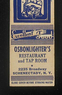 1940s Osbonlighter's Restaurant and Tap Room 2235 Broadway Schenectady NY MB