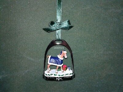 Breyer 2002 Christmas Stirrup Ornament With Box --- Nib