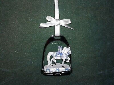 Breyer 2006 Christmas Stirrup Ornament With Box ---  Nib