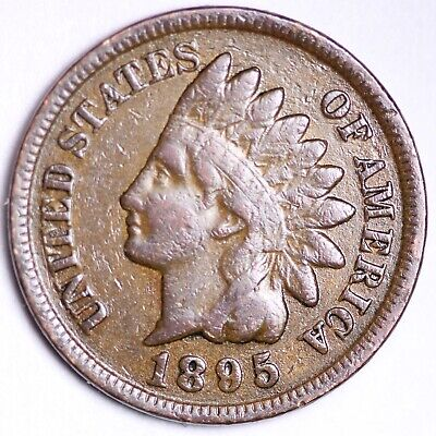 1895 P Indian Head Cent Penny  SDS  **FREE SHIPPING**
