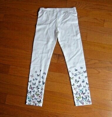 NEW Carter's White Leggings with Butterflies Size 6x Cotton Pants NEW