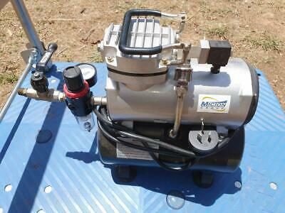GS Airbrush Hobby Compressor with Airtank AS-189 Used
