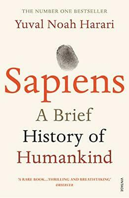 Sapiens: A Brief History of Humankind New Paperback Book