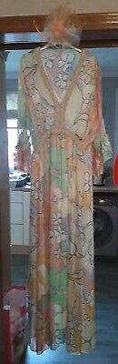 Ladies Dress And Fascinator New size 10