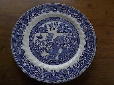 MYOTT MEAKIN Fine Tableware BLUE WILLOW Pattern Ironstone Dinner Plate 25cm 10""