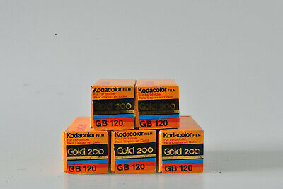 kodak gold 200  / GB 120 film 5x