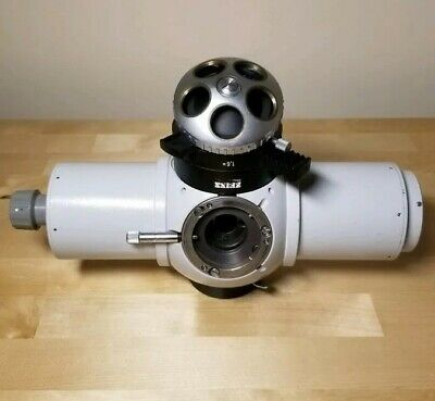 Zeiss Universal Microscope Tube Head, Rotating Objective Turret