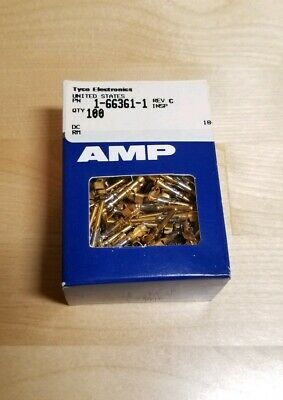 AMP TE Connectivity 66361-1 Gold Plated Contact, Multimate, Type III Series
