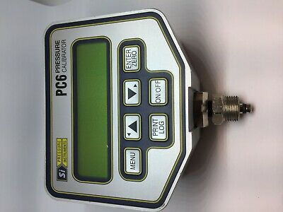 SI Pressure Instruments PC6 Pressure calibrator PC6-0010-C-3 10 bar made in UK