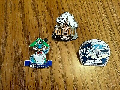 Authentic Original Disney Trading Pin Assorted Attraction pins Lot of  3