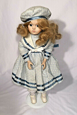 """The Princess Collection 16/"""" Hand Painted Porcelain Doll /& Extra Doll 2x"""