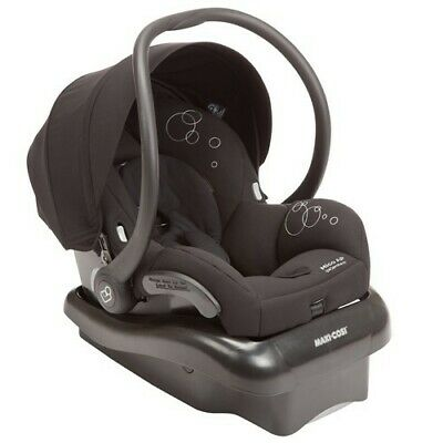 Maxi Cosi Mico AP Baby Capsule With Isofix - Black With Base - Kids Car Seat