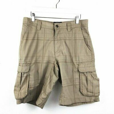 The North Face Mens Tribe Cargo Shorts Storm Blue Plaid NWT Size 32-40