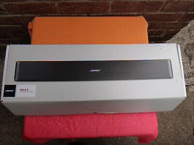 Bose Solo 5 Sound BAR TV Digital Sound System with Bluetooth 'OPEN BOX'