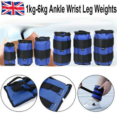 2pcs Ankle Weights Strap Leg Wrist Bracelet Strap Workout for Training Running