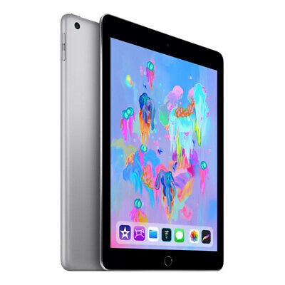 """[Open Box - As New] Apple iPad 2018 A1954 9.7"""" Cellular 32GB - Space Grey"""