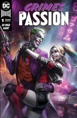 CRIMES OF PASSION #1 IAN MACDONALD HARLEY & JOKER 80 pg VARIANT LIMITED TO 2500