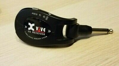 XVIVE U2 Guitar Wireless System Black Receiver only