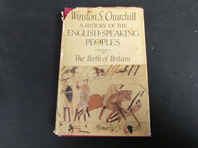 A History of the English-Speaking Peo, Churchill, Winston S, 1958, Cassell, Good