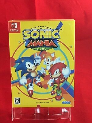 Sonic Mania Plus mit Tonspur CD Artbook - Schalter Nintendo Japan Import