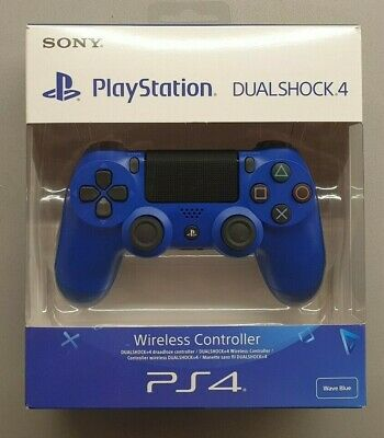 DualShock 4 Controller Wave Blue V2 mint condition
