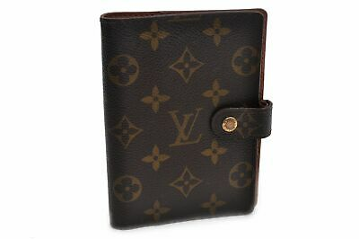 Authentic Louis Vuitton Monogram Agenda PM Day Planner Cover R20005 LV 90603