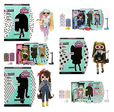 AUSWAHL: L.O.L. Surprise OMG Fashion Doll Serie 2 - Große LOL Puppe Top Secret