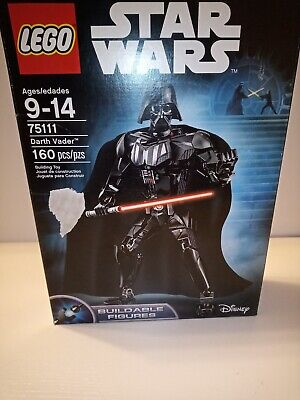LEGO Star Wars Buildable Figure Darth Vader 160 Pieces - NEW 75111