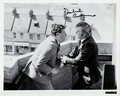 MICHAEL CAINE hand-signed GET CARTER 8x10 authentic w/ coa VINTAGE 1971 CLOSEUP