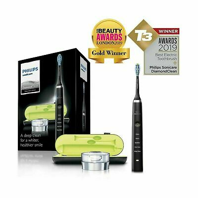 Philips Sonicare DiamondClean Electric Toothbrush, 2019 Edition, Black