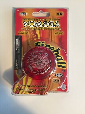 Official Yomega Fireball Transaxle Yo-Yo Yoyo Red 2009 - Brand New, Sealed!