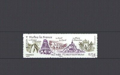 France, Europa Cept 2012, Visit - Adhesive, Mnh