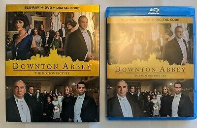 Downton Abbey The Motion Picture (Blu-ray Disc Only) w/ Case & Slipcover, 2019