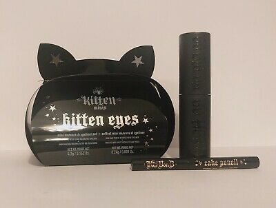 Kat Von D Kitten Eyes Mini Set: Go Big Or Go Home Mascara & Cake Pencil Eyeliner
