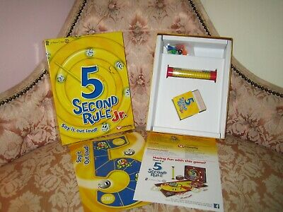 University Games 5 Second Rule Junior Game  + Free Mini Torch (new) with clip