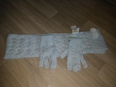 mayoral scarf and gloves