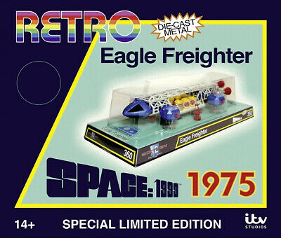 Space 1999 - LIMITED EDITION SET - RETRO EAGLE FREIGHTER