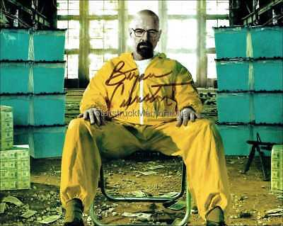 Bryan Cranston Autograph *Breaking Bad* Hand Signed 10X8 Photo