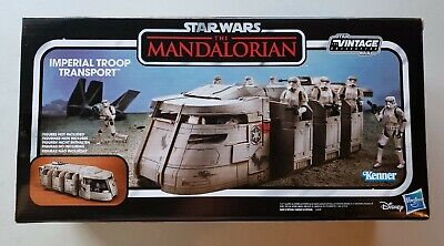 Star Wars Vintage Collection The Mandalorian Imperial Troop Transport IN STOCK!
