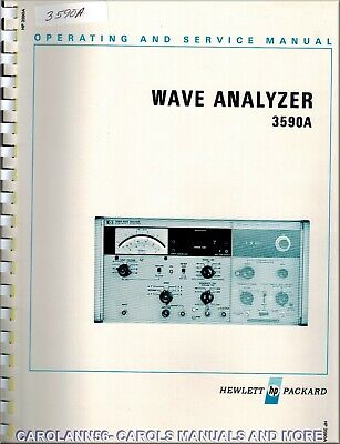 HP Manual 3590A WAVE ANALYZER