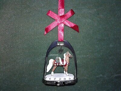 Breyer 2013 Christmas Stirrup Ornament With Box -  Nib