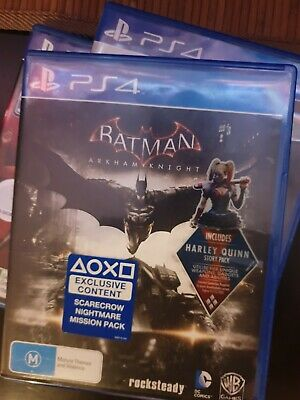 Batman: Arkham Knight PS4 PlayStation 4 Excellent Condition Steelbook Rocksteady