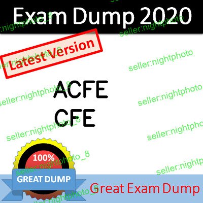 CFE Certified Fraud Examiner Exam Dump PDF